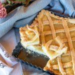 Crostata con marmellata di limone e frolla al vino bianco