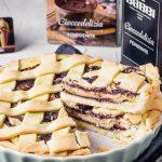 Crostata ricotta e Cioccodelizia Fondente Babbi